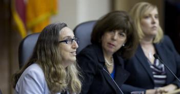 L-R, Mary-Beth Moylan, Karen Getman, Erin Peth