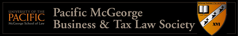 McGeorge Business & Tax Law Society